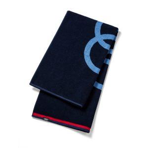 Банное полотенце Audi, темно-синее, 80x150см