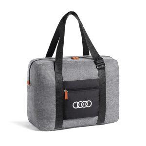 Складная сумка Audi, светло-серая