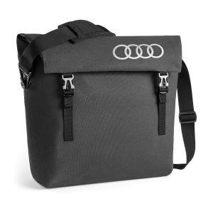 Сумка-мессенджер Audi, темно-серая