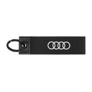 Брелок для ключей Audi Ring, черный