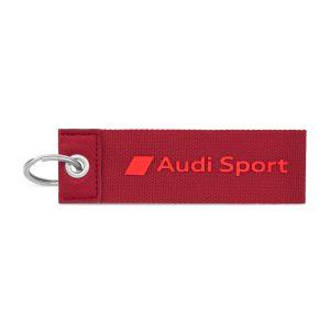 Брелок для ключей Audi Sport, красный