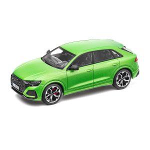 Модель в миниатюре Audi RS Q8, Java Green, масштаб 1:43