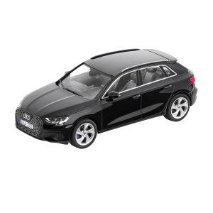 Модель в миниатюре Audi A3 Sportback, Mythos Black, масштаб 1:43