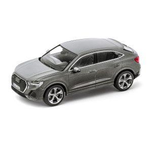 Модель в миниатюре Audi Q3 Sportback, Chronos Grey, масштаб 1:43