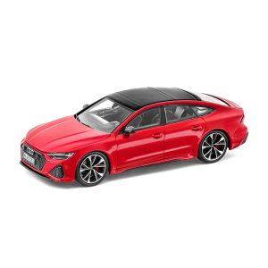 Модель в миниатюре Audi RS 7 Sportback, Tango Red, масштаб 1:43