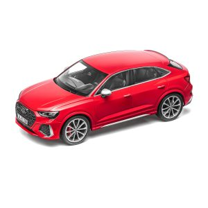 Модель в миниатюре Audi RS Q3 Sportback, Tango Red, масштаб 1:18