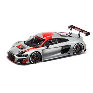 Модель в миниатюре Audi R8 LMS 2019, Silver, масштаб 1:18