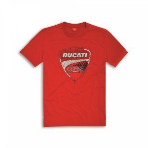 Мужская футболка Ducati Corse Sketch, Red
