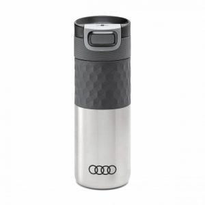Термокружка Audi sport, 500 мл, серебряная