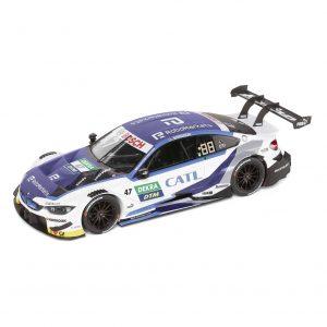 Миниатюрная модель BMW M4, Timo Glock, DTM 2019, масштаб 1:18