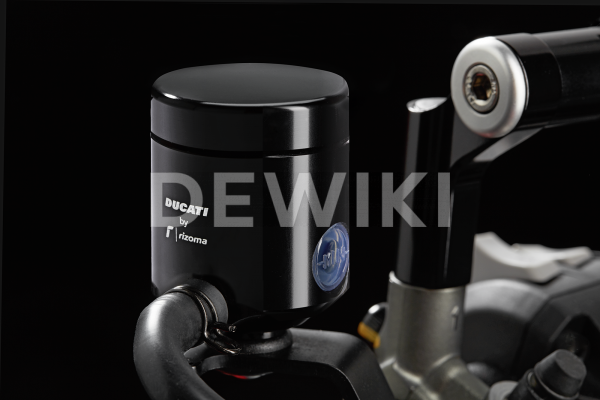 Бачок жидкости сцепления Rizoma Ducati, Black, кроме Diavel / XDiavel