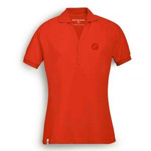 Женская рубашка-поло BMW Motorrad Logo, Orange