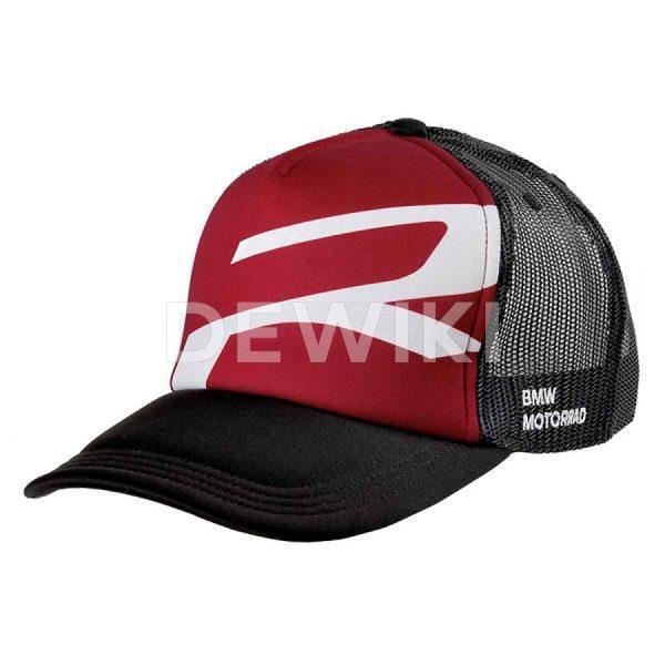 Бейсболка BMW Motorrad Roadster, Black/ Red