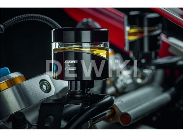 Бачок жидкости сцепления Rizoma Ducati, Red, кроме Diavel / XDiavel