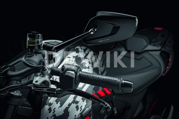 Рычаг сцепления Rizoma Ducati Monster / Panigale / Streetfighter / Supersport, Black