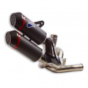 Гоночный глушитель Termignoni Ducati Monster с 2021 года