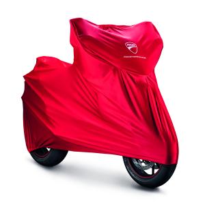 Гаражный чехол Ducati Hypermotard 950, Red