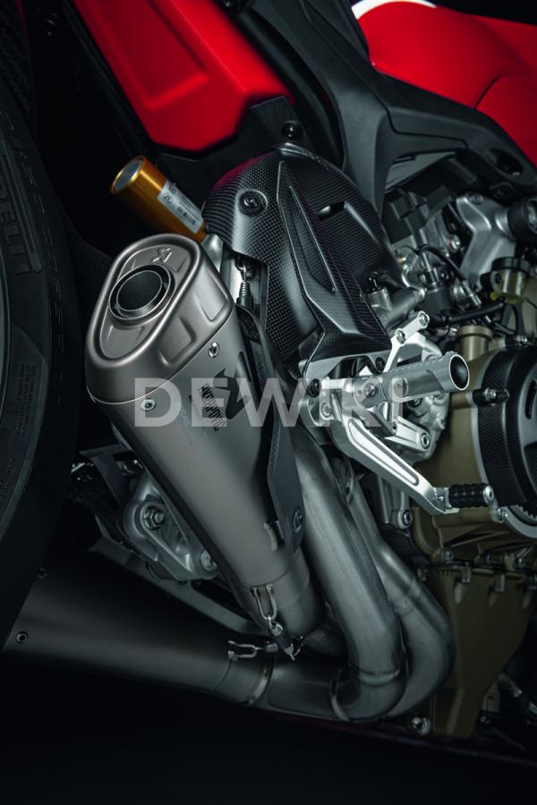 Гоночная выхлопная система Ducati Streetfighter V4 / V4 S