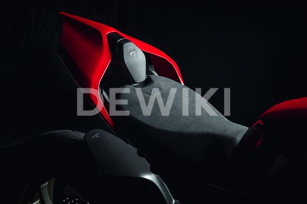 Крышка заднего пассажира Ducati Streetfighter V4 / V4 S, Black