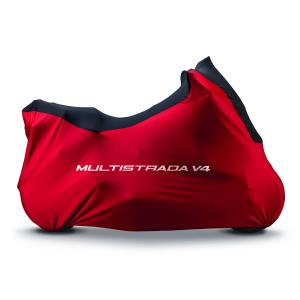Брезентовый гаражный чехол Ducati Multistrada V4, Red