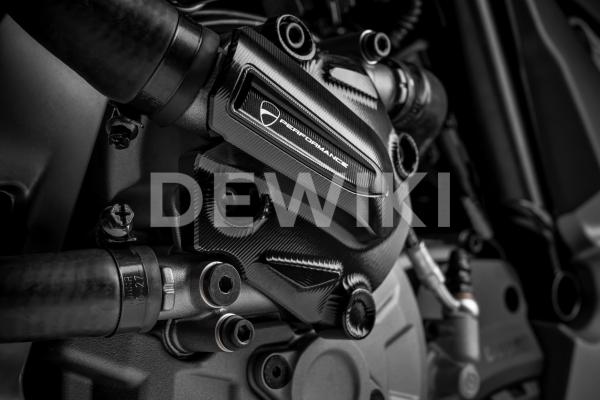 Алюминиевая крышка водяного насоса Ducati Multistrada 1200 Enduro, Black