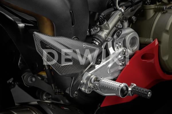 Карбоновая защита пятки Ducati Panigale V4 / Streetfighter V4