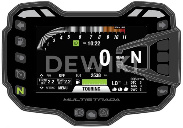 Датчик давления в шинах Ducati Multistrada 950 S / 1260  Enduro / V4 S