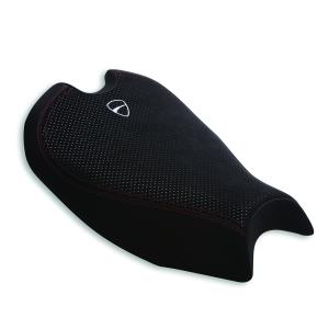 Комфортное высокое сиденье Ducati Panigale V2, White logo