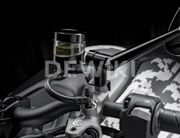 Опора бочков тормозной жидкости и жидкости сцепления Rizoma Ducati Monster