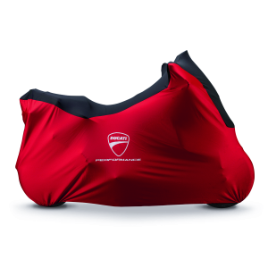 Брезентовый гаражный чехол Ducati Multistrada 950 / 1200 / 1260, Red