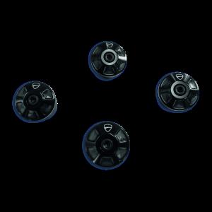 Алюминиевые заглушки рамы Ducati Monster 797, Black