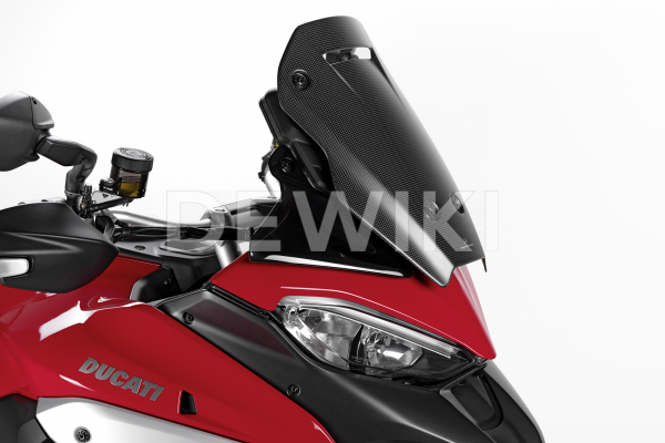 Карбоновый обтекатель фар Ducati Multistrada V4