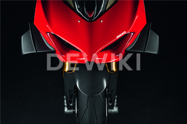 Карбоновый передний брызговик Ducati Panigale V2 / V4 / Streetfighter V4