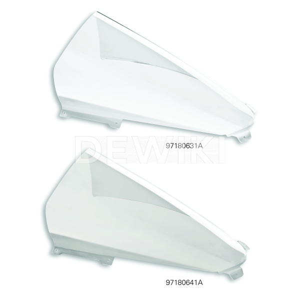 Высокое ветровое стекло Ducati Panigale V2 / V4 / V4 S