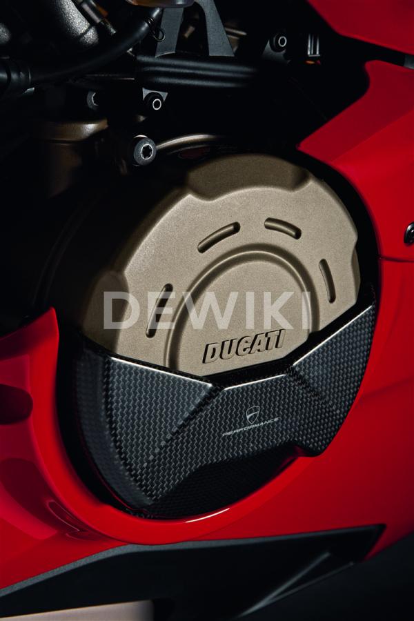 Карбоновая крышка картера сцепления Ducati Panigale V4 / V4 S