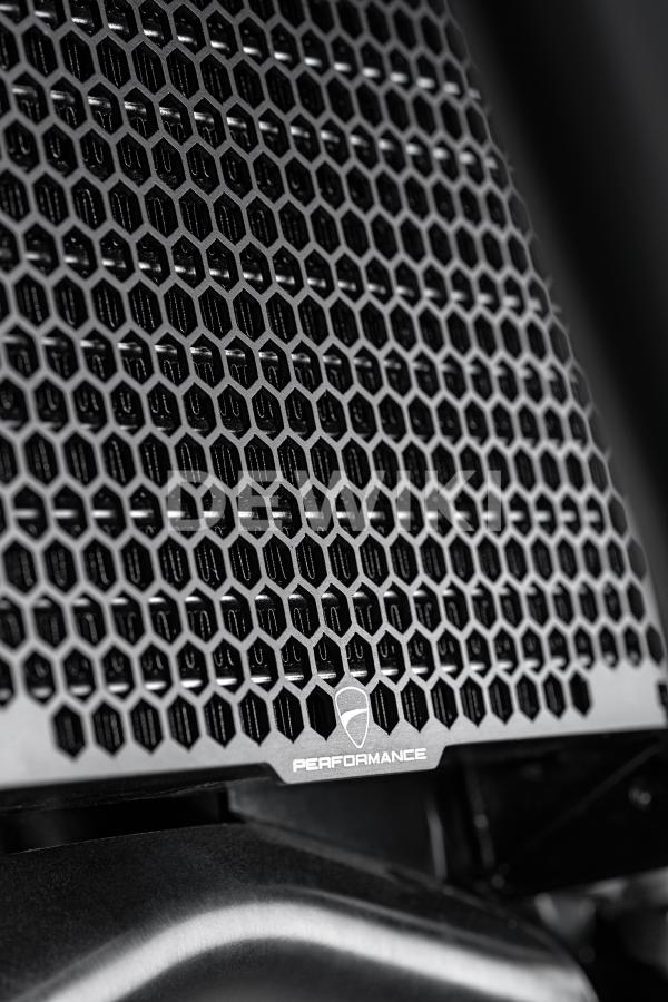 Защитная сетка для масляного радиатора Ducati Multistrada V4 с 2021 года, Black