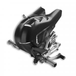 Регулируемые подножки водителя из алюминия Rizoma Ducati Panigale V4 с 2020 года