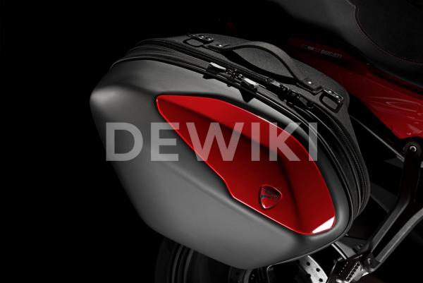Боковые кофры Ducati Supersport / 950, Red