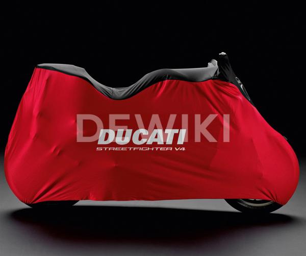 Брезентовый чехол Ducati Streetfighter V4 / V4 S с 2020 года