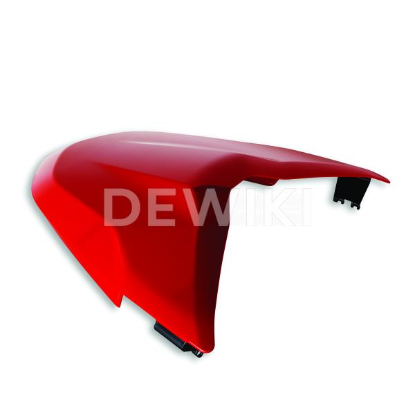 Крышка-чехол пассажирского сиденья Ducati Supersport / 950, Red