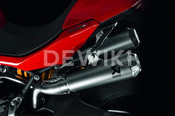 Выхлопная система Akrapovic Ducati Supersport с 2017 года