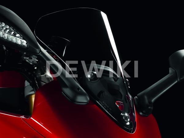 Высокое тонированное ветровое стекло Ducati Supersport / 950