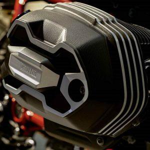 Крышка головки цилиндров Option 719 Shadow BMW R Ninet, левая