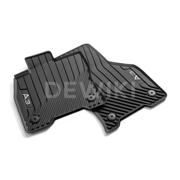 Резиновые передние коврики Audi A3 Sedan / Sportback (8Y)