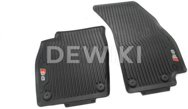 Резиновые передние коврики Audi S8 (D5)