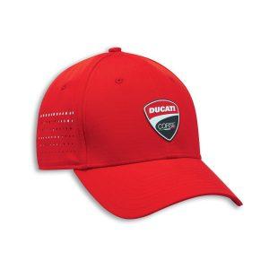 Бейсболка Ducati Corse DC Stretch, Red